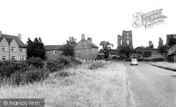 Sheriff Hutton, The Castle And York Road c.1960