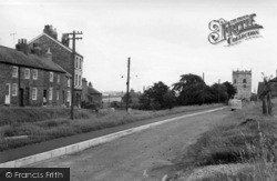 Sheriff Hutton, The Church And East End c.1960