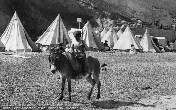 Sheringham, Donkey Ride 1906