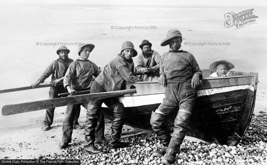 Sheringham, Fishermen 1893