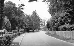 Shermanbury, Corner House c.1955