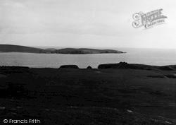 Shetland, Broch Of Burraland, Mousa Sound 1954, Shetland Islands