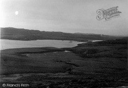Shetland, Burga Water Broch 1954, Shetland Islands