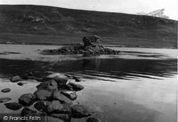 Shetland, Castle Holm, Loch Strom 1954, Shetland Islands