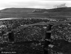 Shetland, Clickhimin Broch, Cell G And Entrance 1954, Shetland Islands