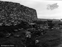 Shetland, Clickhimin Broch, The Entrance 1954