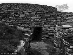 Shetland, Clickhimin Broch, The Forebuildings 1954, Shetland Islands