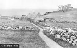 Shetland, Croft House, South Voe, Dunrossness c.1910