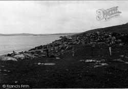 Shetland, Housabister Broch 1954, Shetland Islands