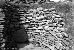 Shetland, Jarlshof Broch c.1955, Shetland Islands