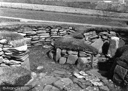 Shetland, Jarlshof Bronze Age Settlement c.1955, Shetland Islands