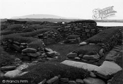 Shetland, Jarlshof Mediaeval Farmsted c.1955