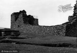 Shetland, Jarlshof Old House Of Sumburgh c.1955, Shetland Islands