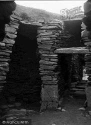 Shetland, Jarlshof Wheel House No 2 c.1955, Shetland Islands