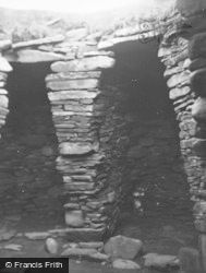 Shetland, Jarlshof Wheel House No 2 c.1955
