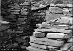 Shetland, Jarlshof Wheel House No 3 c.1955, Shetland Islands