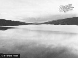 Shetland, Loch Strom With Castle Holm 1954