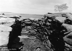 Shetland, Ness Of Burgi Fort c.1955, Shetland Islands