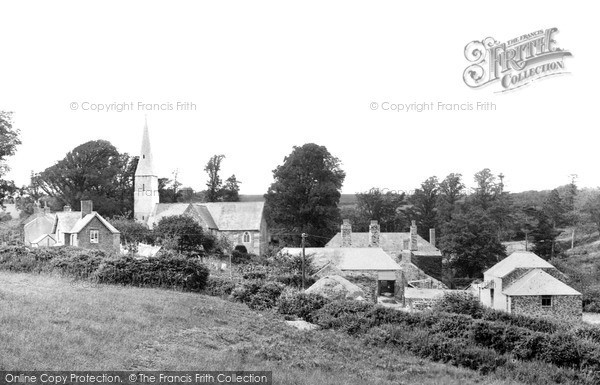 Photo of Sheviock, the Church c1930, ref. s571501