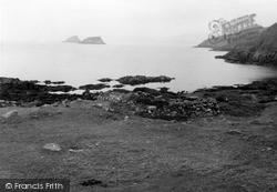Shiant Islands, Eilean An Tighe, Ruined Houses 1960