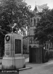 Church And Memorial c.1965, Shildon