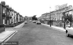Wesley Crescent c.1965, Shildon
