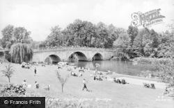 Bridge c.1960, Shillingford