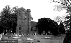 Shillingstone, Church Of The Holy Rood c.1960