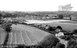Shillingstone, The Village And Harvest Field c.1955