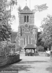 Shipbourne, The Church c.1955