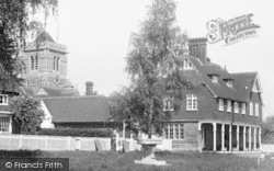 Shipbourne, The Post Office And Church c.1955