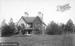 Shipbourne, The Vicarage 1901
