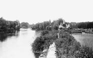 Shiplake, below the Lock 1890