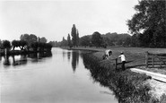 Shiplake, from the Mill 1890
