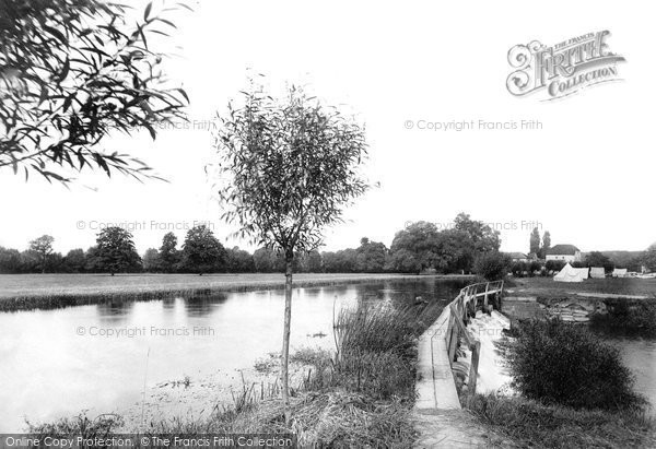 Shiplake, from Weir Bridge 1890