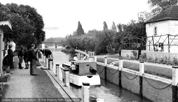 Shiplake, Lock c1955