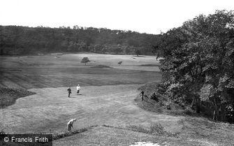 Shipley, Golf Links, 7th Green 1923