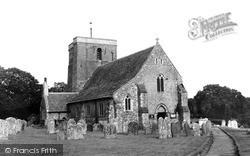 St Mary The Virgin Church c.1960, Shipley