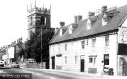 Shipston On Stour, Church Street And St Edmund's Church c.1965