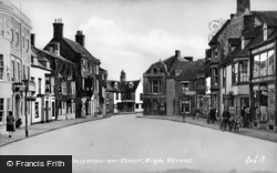 Shipston On Stour, High Street c.1955