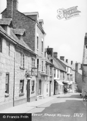 Shipston On Stour, Sheep Street c.1955