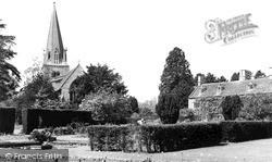 Shipton-Under-Wychwood, Church Of St Mary The Virgin c.1955, Shipton Under Wychwood