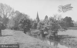 Shipton-Under-Wychwood, River Envelode c.1955, Shipton Under Wychwood