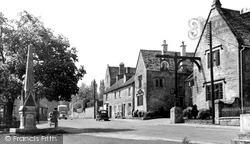 Shipton-Under-Wychwood, The Green 1952, Shipton Under Wychwood