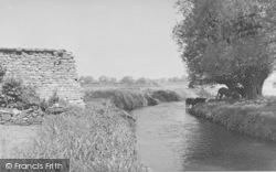 Shipton-Under-Wychwood, The River c.1955, Shipton Under Wychwood