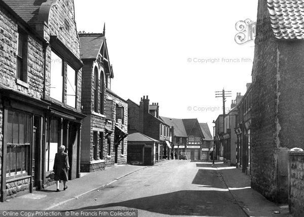 Shirebrook, Main Street c1955