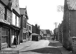 Shirebrook, Main Street c.1955