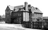 Shirebrook, the Vic Inn c1955