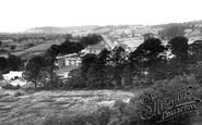 Shirehampton, Lawrence Weston Estate from Penpole Point c1955