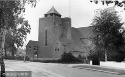 Shirley, All Saints' Church c.1960